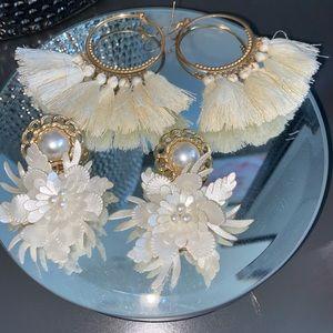 Gold earrings bundle !